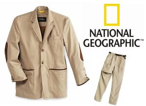 futurethink national geographic travel jacket