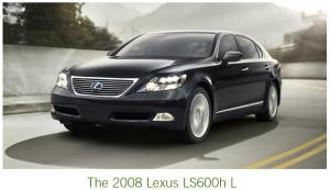 futurethink Lexus LS600h L