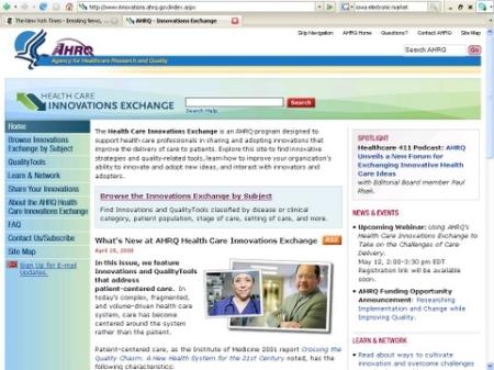 AHRQ Homepage