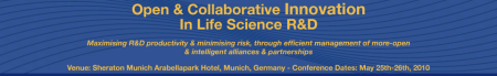 Open & Collaborative Innovation in Life Science R&D